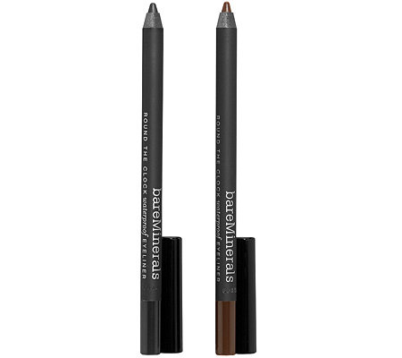 bareMinerals® Round the Clock Eyeliner-Duo, wasserfest