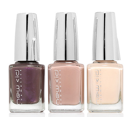 NEW CID Cosmetics I-Polish Trio Nagellack-Set 3tlg.