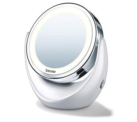beurer kosmetikspiegel zum hinstellen 2 spiegelfl chen 5. Black Bedroom Furniture Sets. Home Design Ideas