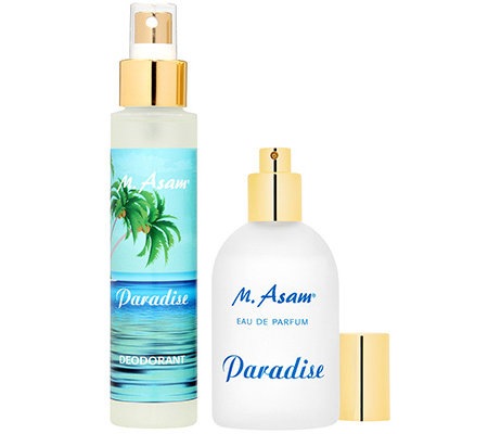 M.ASAM Paradise Eau de Parfum 100ml Deospray 100ml