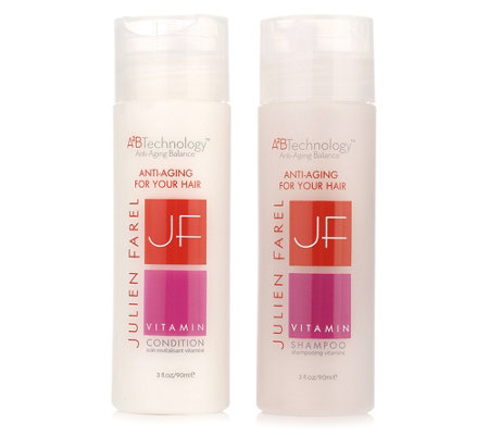 JULIEN FAREL Vitamin Shampoo & Conditioner für coloriertes Haar je 90ml