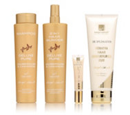 MARGOT SCHMITT Deluxe Pure & Spezialisten-Set Pflege & Styling Gold Edition, 4tlg.