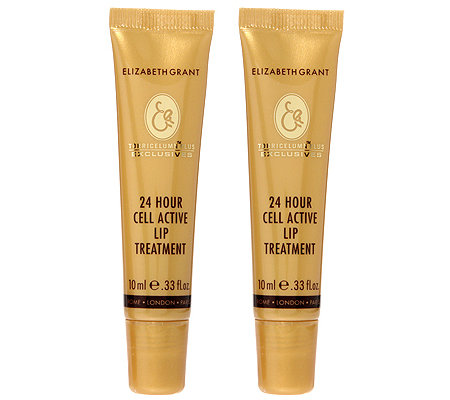 ELIZABETH GRANT 24h CELL ACTIVE Lip Treatment 2x 10ml