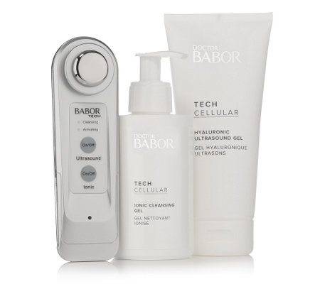 DOCTOR BABOR Ultrasonic Skin Activator-Set 3tlg.