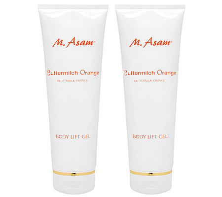 M.ASAM Buttermilch-Orange Bodyliftgel 2x 250ml