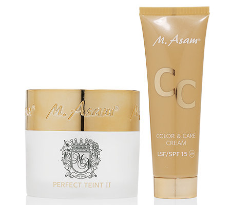 M.ASAM® Perfect Teint II Sondergröße 70ml & CC Cream 50ml SPF 15