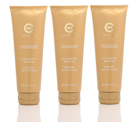 ELIZABETH GRANT EXCLUSIVES 24h Cell Active Cleansing Mousse 3x 200ml