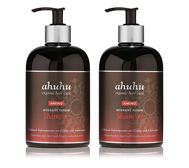 ahuhu organic hair care Shampoo 2 x 500 ml - 292240
