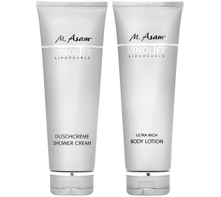 M.ASAM VINOLIFT Duschcreme & Body Lotion 2x250ml
