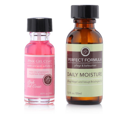PERFECT FORMULA Maniküreöl 30ml Sondergröße & Pink Gel Coat 18ml, 2tlg.
