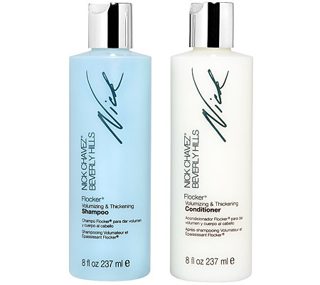NICK CHAVEZ Flocker Set Shampoo & Conditioner 2x 237ml