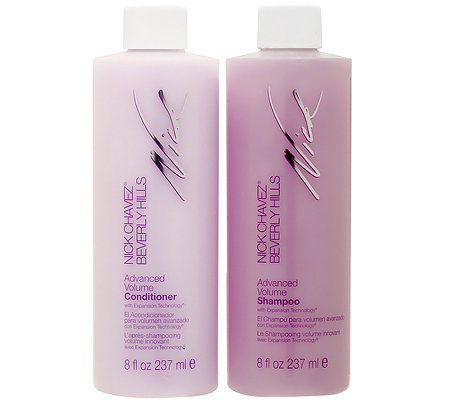 NICK CHAVEZ Advance Volume-Set Shampoo & Conditioner je 237ml