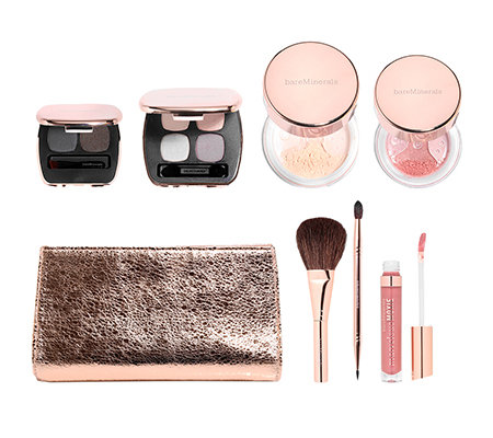 bareMinerals Beautifully Brilliant, X-Mas Collection 7-tlg. mit Tasche