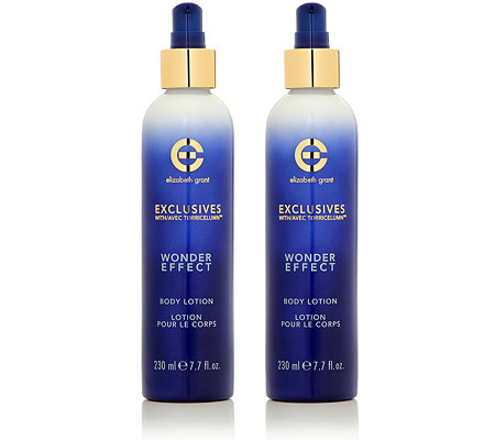 ELIZABETH GRANT WONDER EFFECT Body Lotion Duo 2x 230ml