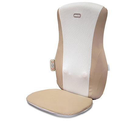 HOMEDICS Shiatsu Massageauflage Wärmefunktion 3 Massagezonen