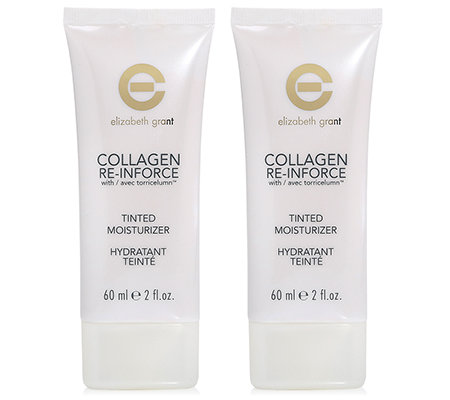 ELIZABETH GRANT COLLAGEN Tinted Day Cream getönte Tagespflege 2x60ml