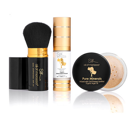 Silk&trade&#x3b;Oil of Morocco Make up-Set inkl. Foundation 3-tlg.