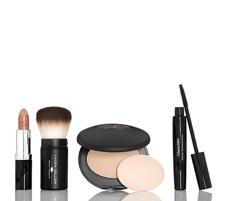 LAURA GELLER Baked Innovations Make-up-Set inkl. Pinsel