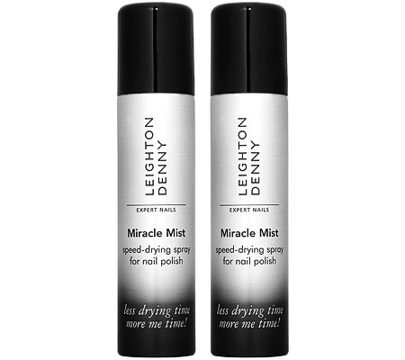 LEIGHTON DENNY Miracle Spray-Duo More Me Time Schnelltrockenspray 2x 75ml
