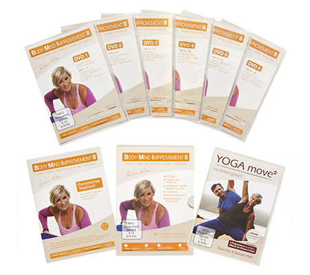 FLEXI-SPORTS Body Mind Improvement 2 Fitness- & Yoga Workout, 7 DVDs