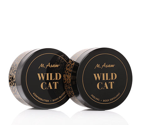 M.ASAM Wild Cat Peeling 300ml & Körperbutter 300ml