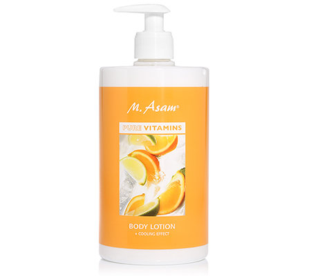 M.ASAM® PURE VITAMINS Bodylotion mit Cooling Effekt 750ml