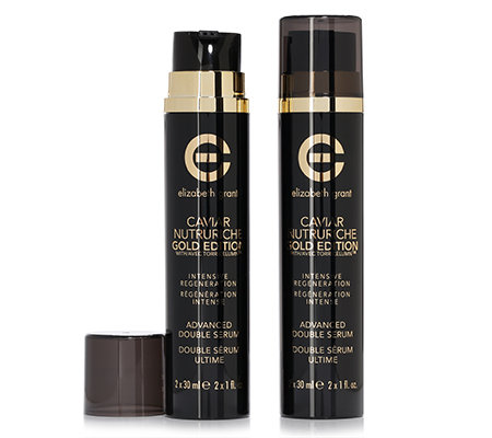 ELIZABETH GRANT CAVIAR NUTRURICHE Gold Edition Double Serum-Duo verb. Rezeptur