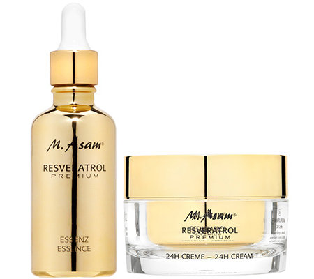 M.ASAM® RESVERATROL PREMIUM 24H Creme 50ml & Essenz 50ml