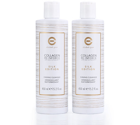 ELIZABETH GRANT COLLAGEN Silk Edition Firming Cleanser Sondergröße 2x 450ml