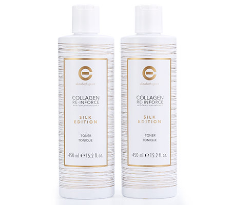 ELIZABETH GRANT COLLAGEN Silk Edition Toner Sondergröße 2x 450ml