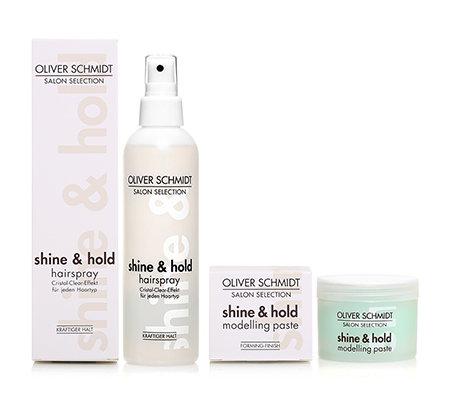 oliver schmidt shine hold haarspray modelliercreme 2 tlg
