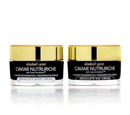 ELIZABETH GRANT CAVIAR Dekolletécreme Day & Night 2x 50ml