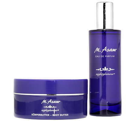 M.ASAM Night Glamour EdP 100ml & Körperbutter 300ml