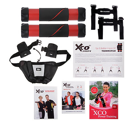 FLEXI-SPORTS XCO-Trainer 2 Trainings-DVDs, Trainingsplan, Gürtel & Buch