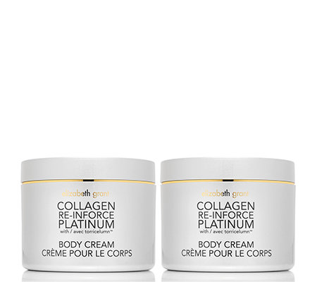ELIZABETH GRANT COLLAGEN Platinum Edition Body Cream 2x 200ml