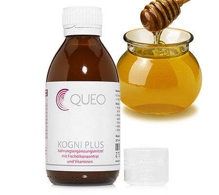 QUEO Kogni Plus Emulsion mit Omega 3 200ml