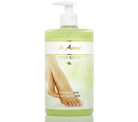 M.ASAM® VINO GOLD Fußbad Spa 750ml