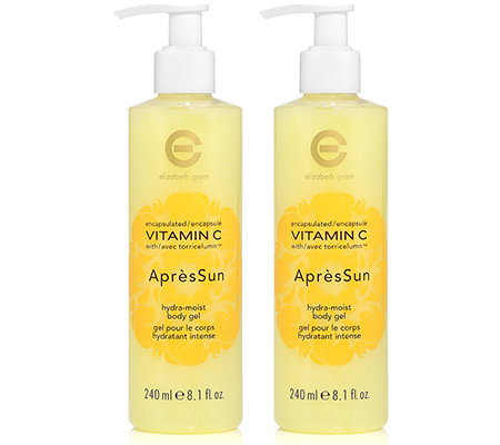 ELIZABETH GRANT VITAMIN C Apres Sun Body Gel Duo 2x 240ml