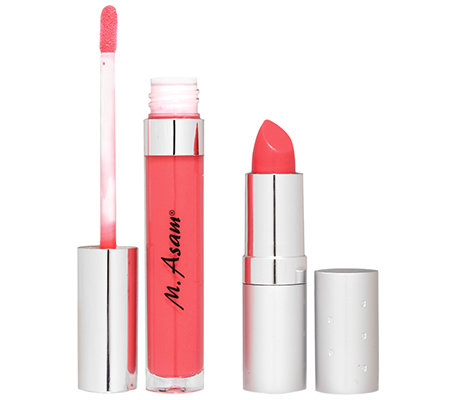 M.ASAM COLORS OF BEAUTY Magic Lips Lippenstift & Gloss Sweet Rose