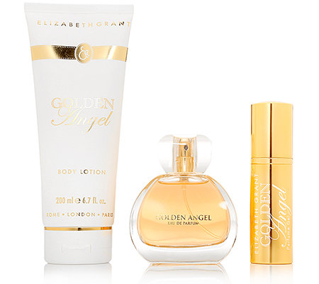 ELIZABETH GRANT Golden Angel Collection Duftset 3tlg.