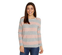 JETTE Pullover Streifen Cut-out - 204677