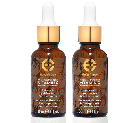 ELIZABETH GRANT VITAMIN C Golden Tan Booster Serum 2x 30ml