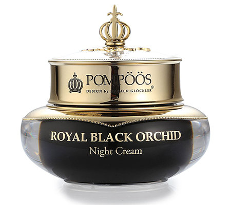 POMPÖÖS DESIGN by Harald Glöckler Black Orchid Night Cream 50ml