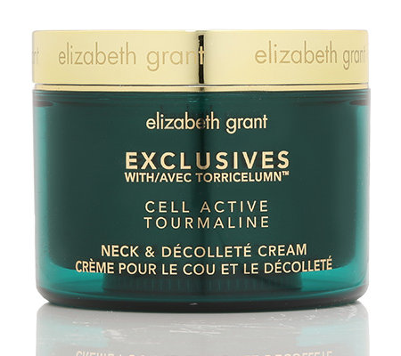 ELIZABETH GRANT 24H CELL ACTIVE Turmalin Edition Hals- & Dekollete Cream, 200ml