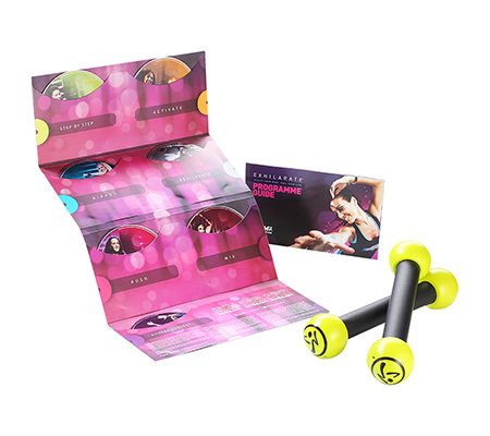 ZUMBA(R) Fitness Exhilarate 7-teilige DVD Kollektion inkl. Toning Sticks