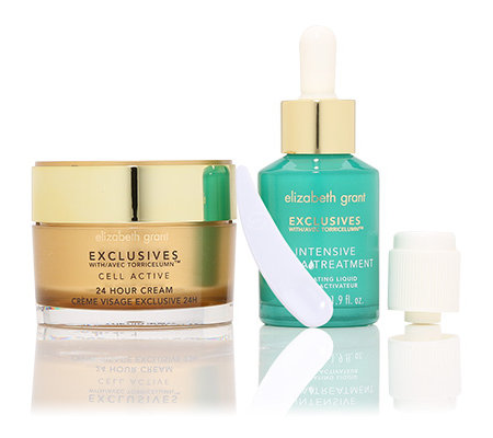 ELIZABETH GRANT EXCLUSIVES 24h Cream 100ml & Hydra Treatment 55ml