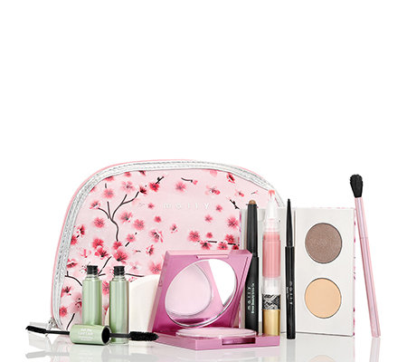 MALLY BEAUTY Guide to Gorgeous Make up-Set inkl. Face Defender mit Tasche, 7-tlg.