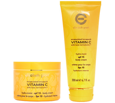 ELIZABETH GRANT VITAMIN C Body Cream SPF 15 2x 200ml