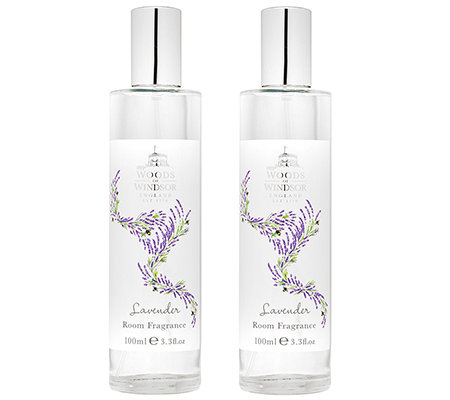 WOODS of WINDSOR Lavendel Raumspray 2x 100ml