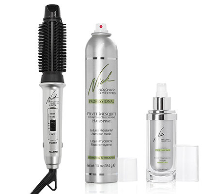 NICK CHAVEZ Nick's Easy Styling-System 3in1-Styler inkl. Serum & Haarspray